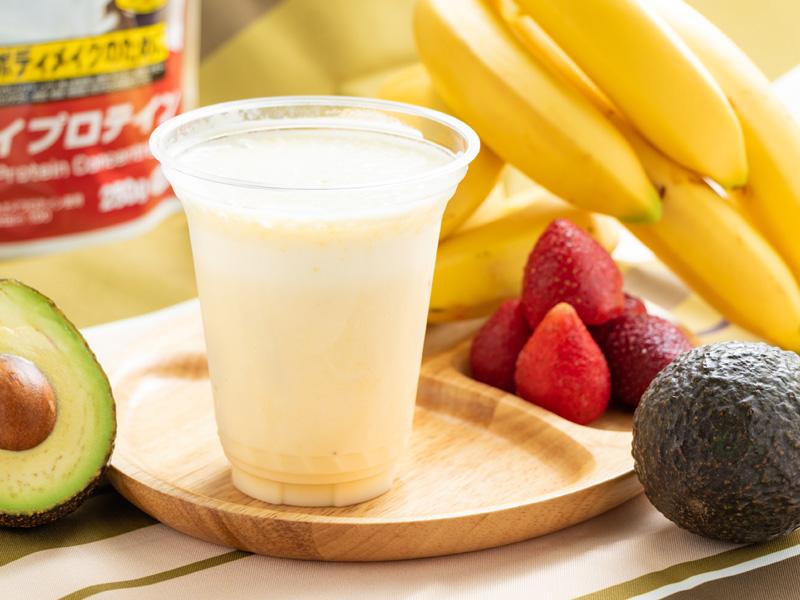 プロテインバナナミルクの写真